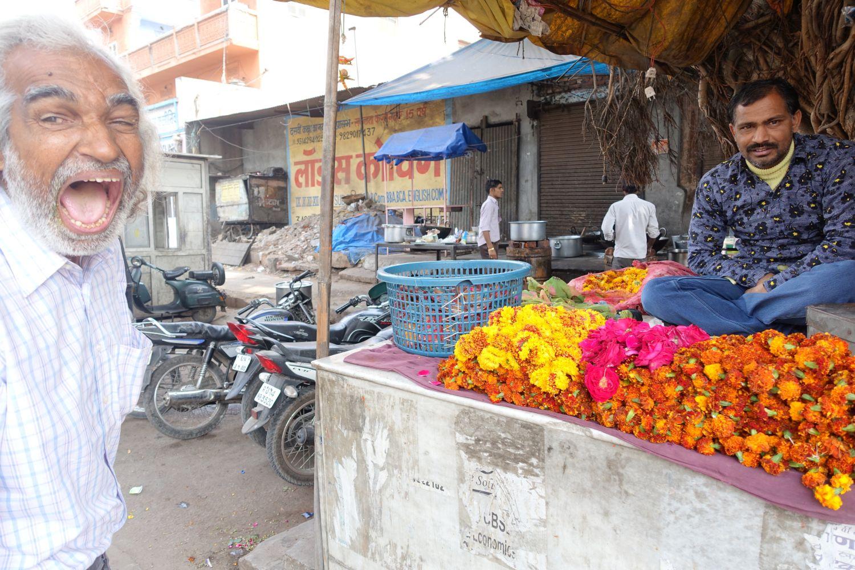 Jaipur | Pink city | Rajasthan | Indian man crying | Photo sandrine cohen