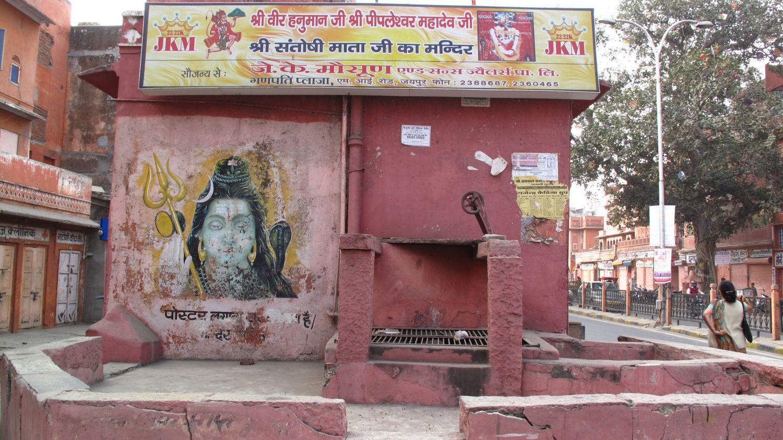 Jaipur | Pink city | Rajasthan | Indian street art | Ganesh temple | ©sandrine cohen