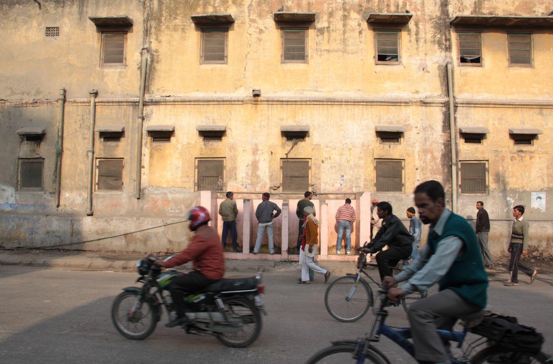 Jaipur | Pink city | Rajasthan | Toilets in the street of Jaipur| ©sandrine cohen