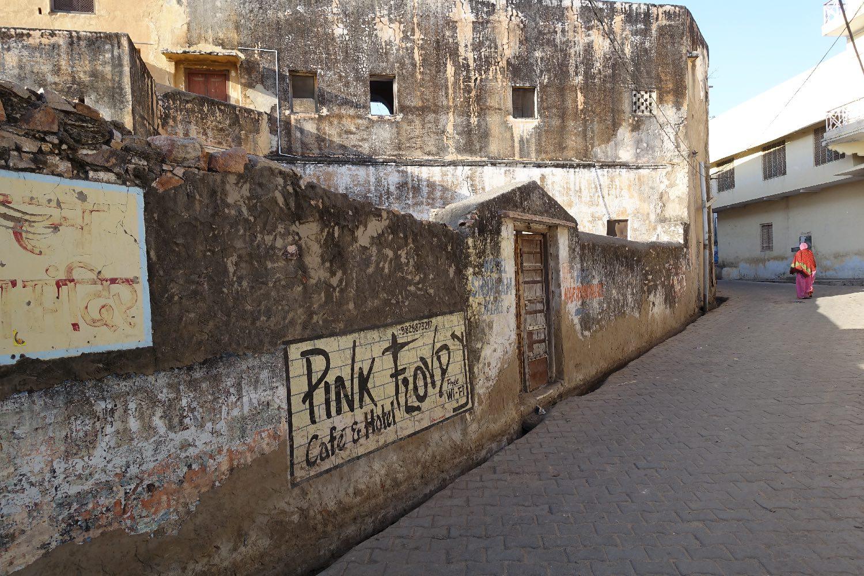 Pushkar | Rajasthan | Pushkar street art | Pink Floyd | ©sandrine cohen
