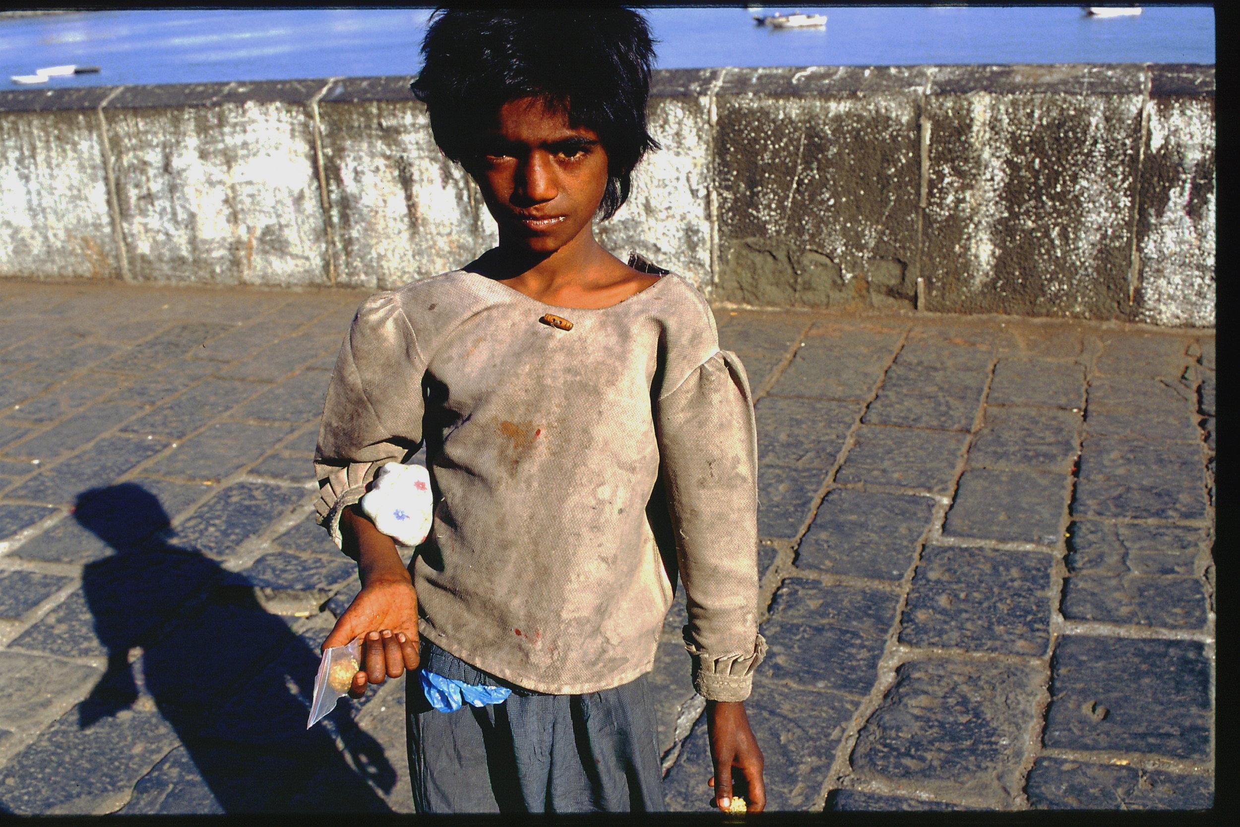 Mumbai - Bombay | street child from Bombay | ©sandrine cohen