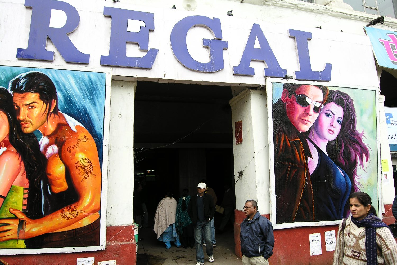 Delhi | Regal cinema Delhi | ©sandrine cohen