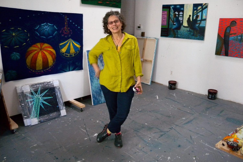 Jane Dickson painter New York | Photosandrine cohen