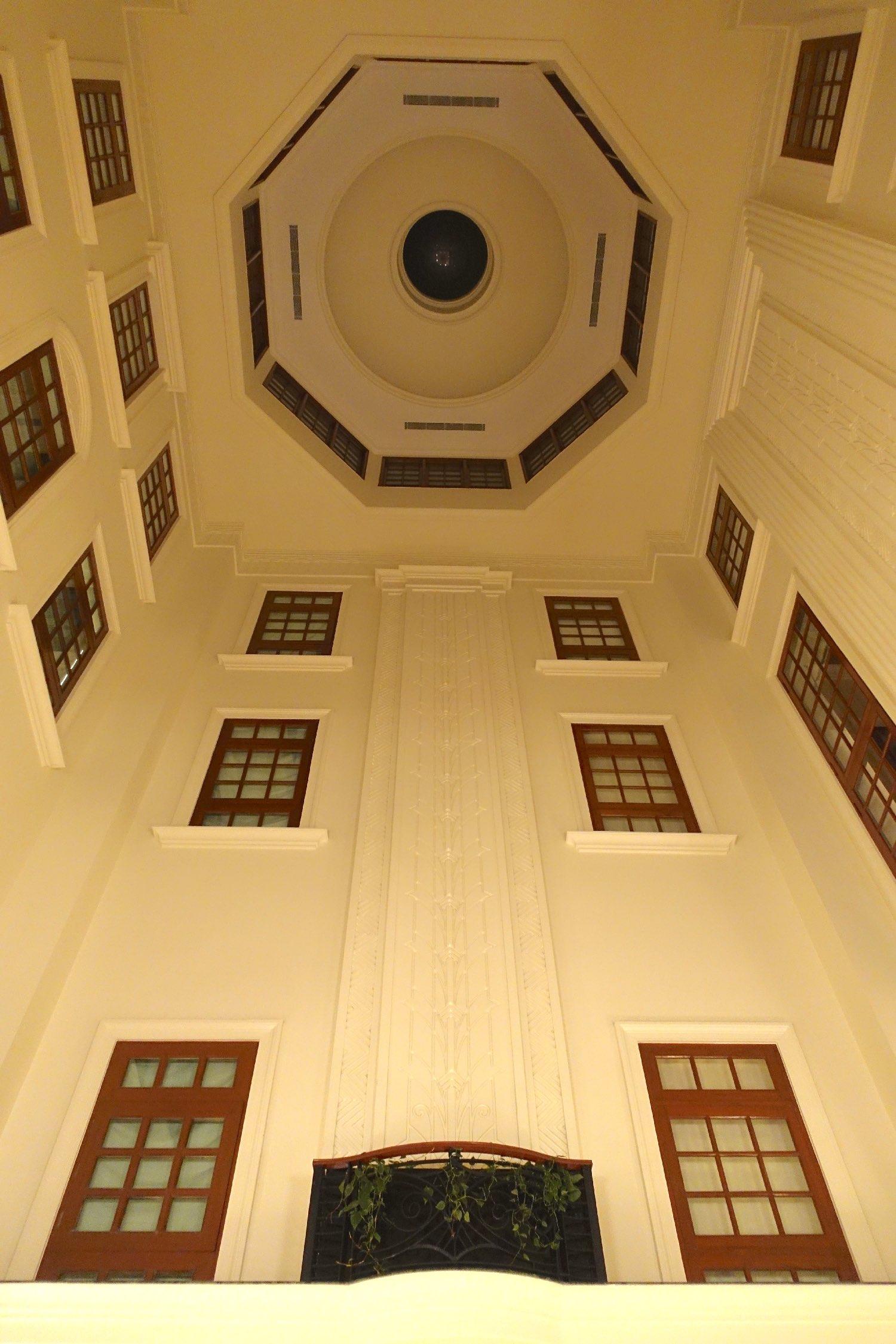 New Delhi | The Imperial Hotel | The Imperial New Delhi | Living | Art deco architecture | Taj group | ©sandrine cohen