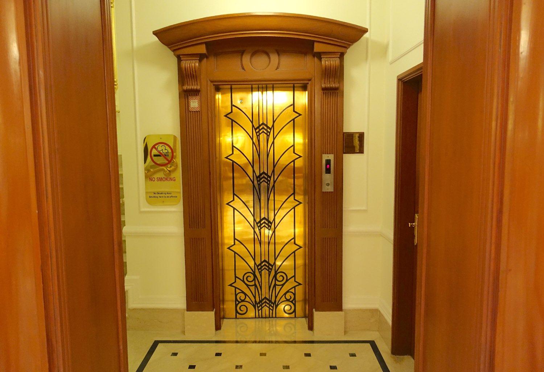 New Delhi | The Imperial Hotel | The Imperial New Delhi | Taj group | Lift door | ©sandrine cohen