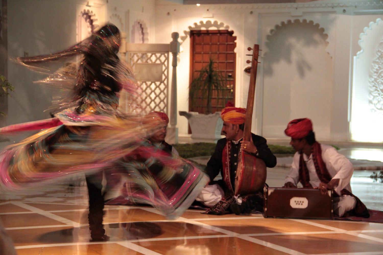 Udaipur 26 | Rajasthan | Lake Palace Hotel | Taj group | Rajasthan dance |©sandrine cohen