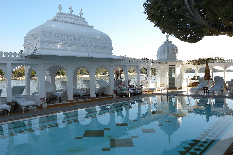Udaipur 41 | Rajasthan | Lake Palace Hotel | Taj group | swimming pool | ©sandrine cohen