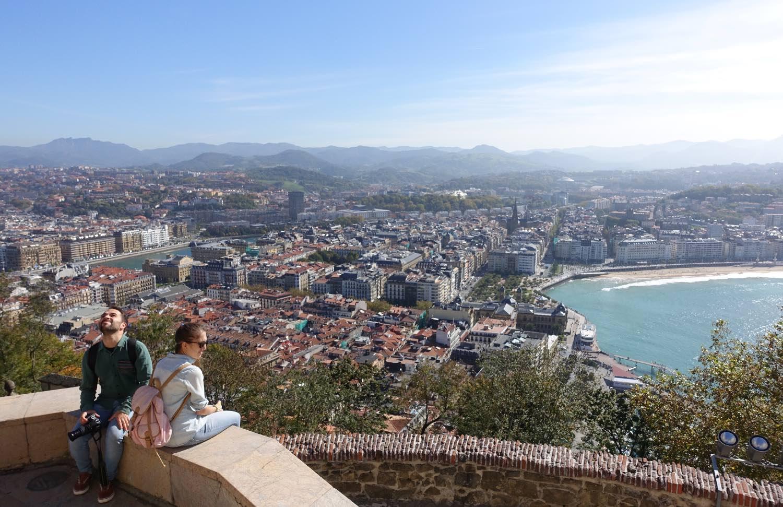 San Sebastian | San Sebastien | Donostia | View of San Sebastian | photo sandrine cohen