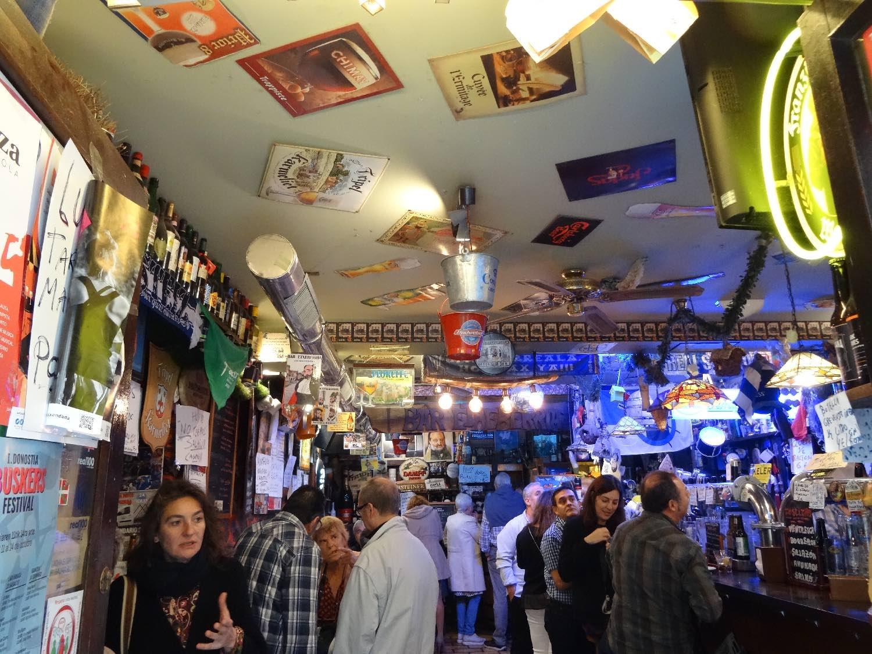 San Sebastian | San Sebastien | Donostia | Pintxos bar | Tapas bar  | photo sandrine cohen