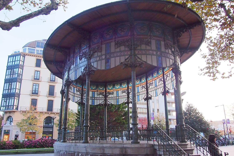 San Sebastien | San Sebastian | Donostia | Music kiosk | photo sandrine cohen