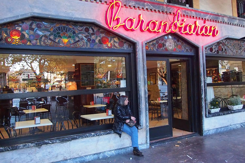 San Sebastien | San Sebastian | Donostia | Barandiaran Aguirre bar | photo sandrine cohen