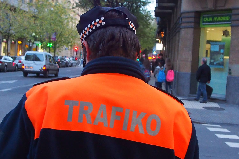 San Sebastien | San Sebastian | Donostia | Trafico | Traffic officer | photo sandrine cohen