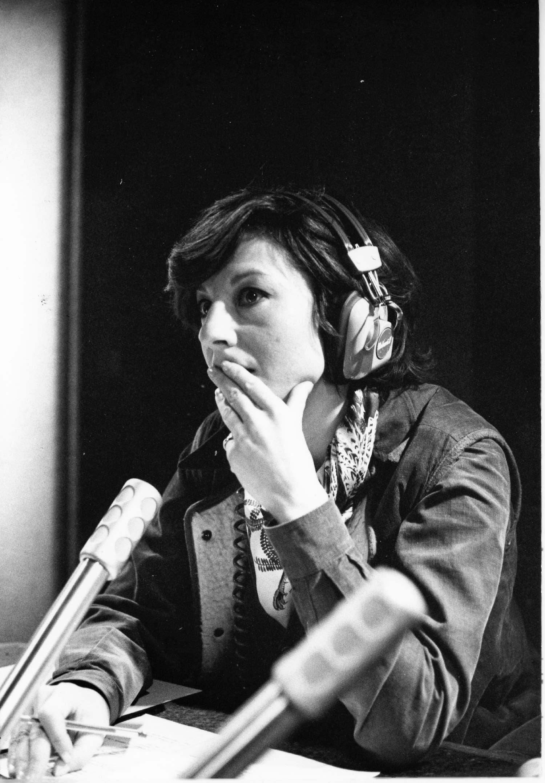 Denise Fabre | speakerine | Europe 1 | 1978 | Photo sandrine cohen