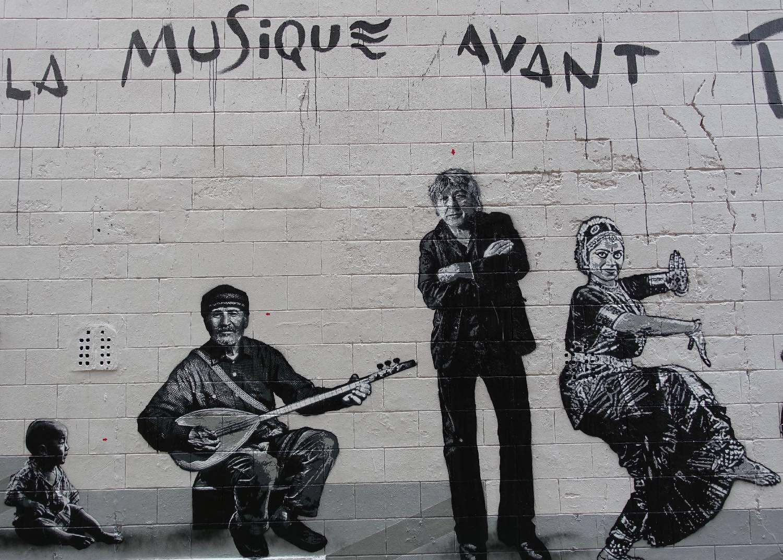 Jef Aerosol |De la musique avant tout |Rue Haute |Bruxelles |Arno |©sandrine cohen