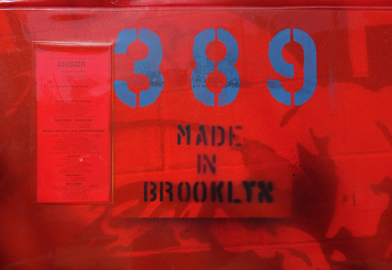 Street art photo | Made in Brooklyn | photo sandrine cohen