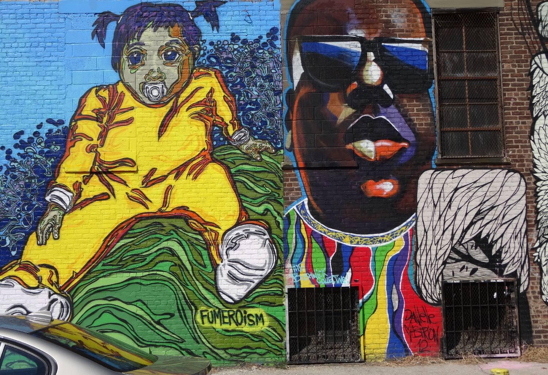 Street art Brooklyn | Notorious Big | Photo sandrine cohen
