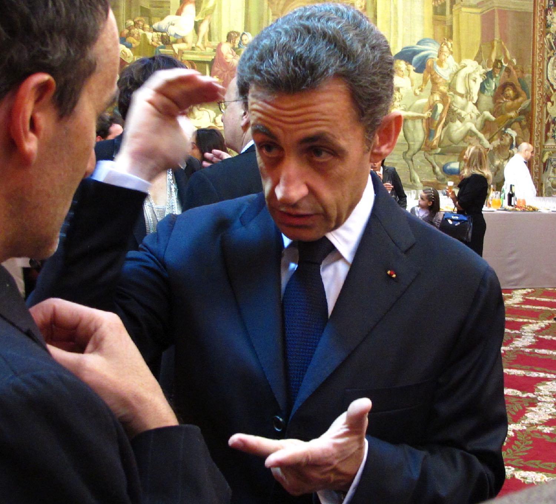 Nicolas Sarkozy | Président de la République | Elie Semoun | Palais de l'Elysée | Paris 2010 | Photo sandrine cohen