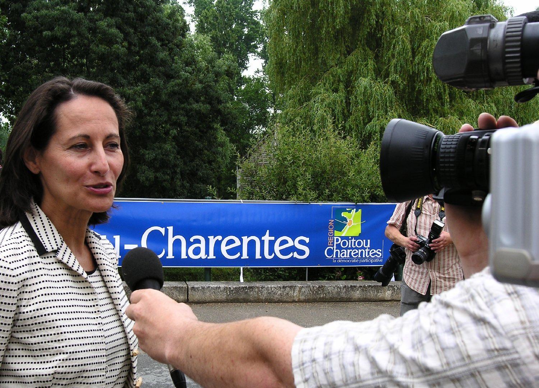 Segolene Royal juin 2016 | Présidente de la région Poitou-Charentes | Election présidentielle 2007 contre Nicolas Sarkozy | Photo sandrine cohen