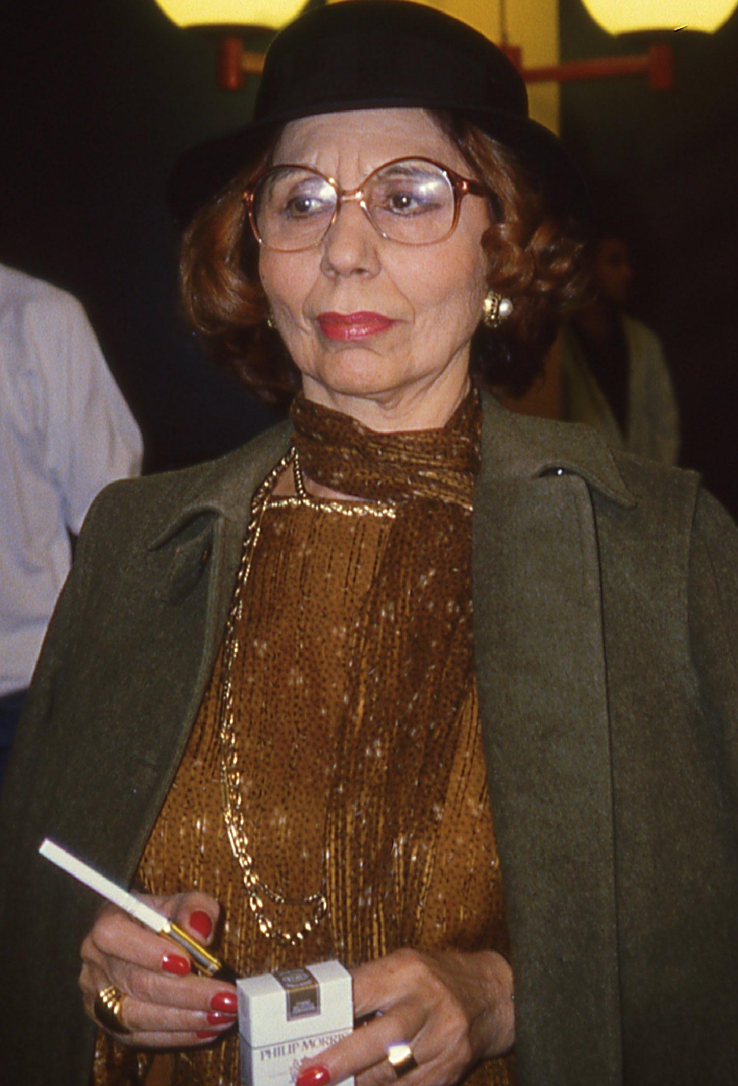 Alice Sapritch – 1984 | Lancement de Canal+ le 4 novembre 1984 | Photo sandrine cohen