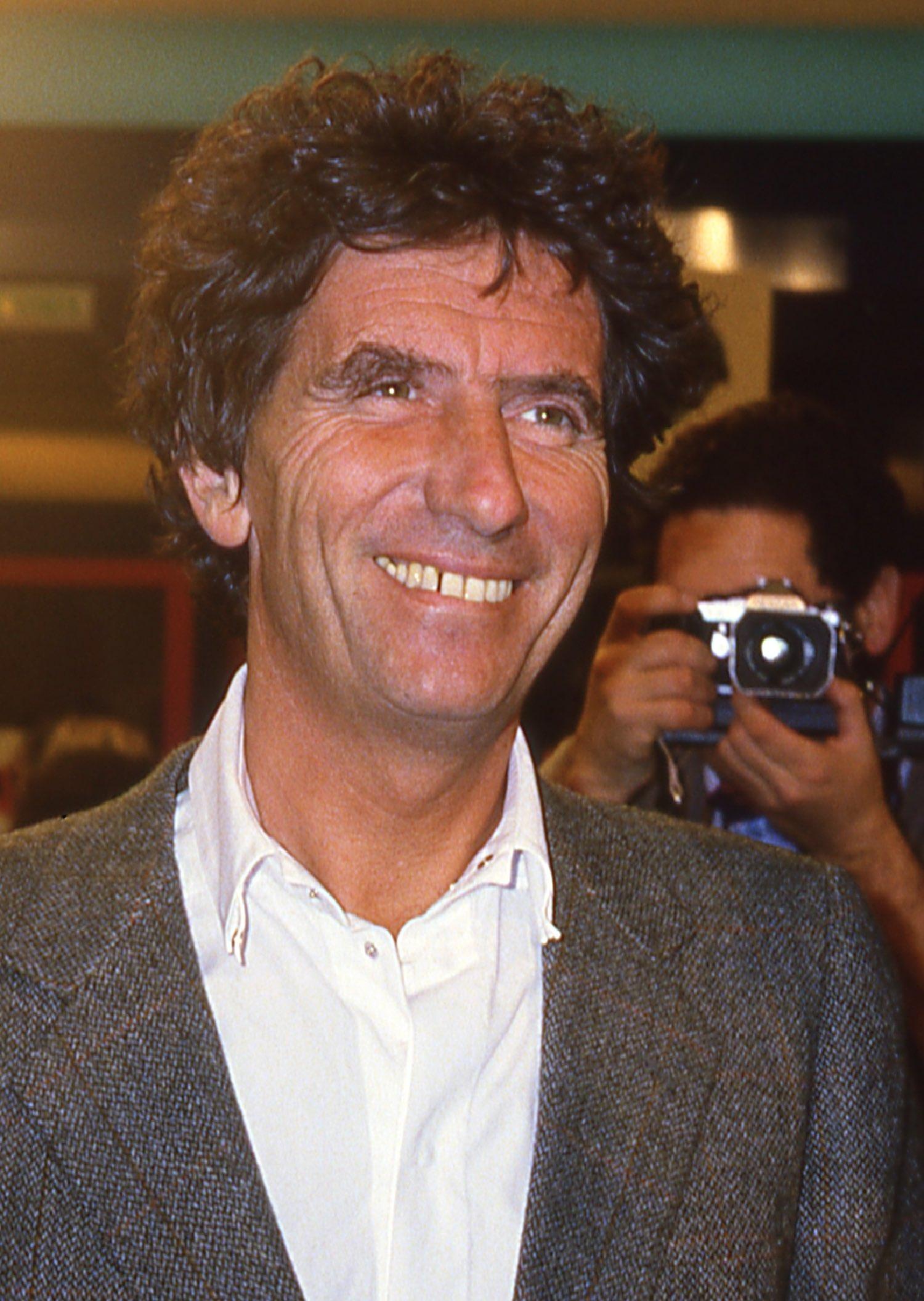 Jack Lang ministre de la culture | Lancement de Canal+ le 4 novembre 1984 | Photo sandrine cohen