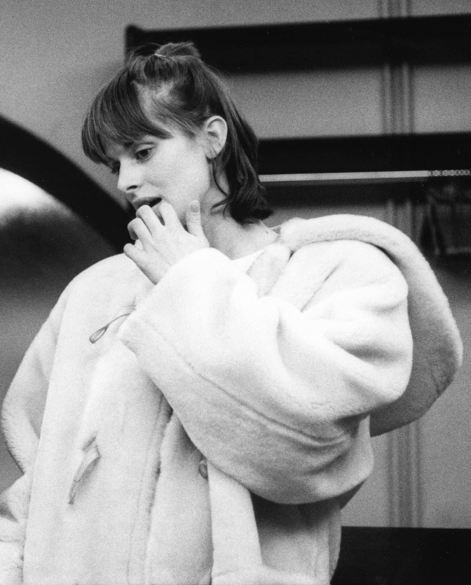 Nastassja Kinsky | Genève 1986 | Photo sandrine cohen