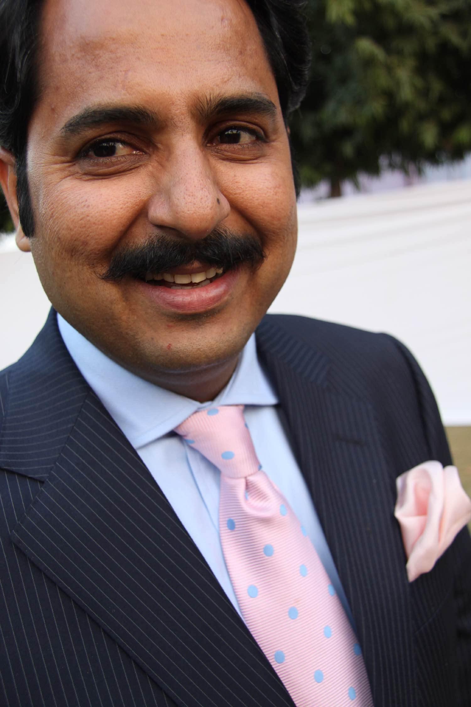 Narendra Singh Rajawat | Diya Kumani princess's husband | Jaipur polo club | Rambagh Polo Club | Jaipur | Royal family | India | ©sandrine cohen