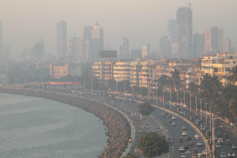 Mumbai - Bombay | Art deco building on Marine drive Mumbai | Listed as UNESCO heritage | Marine drive | ©sandrine cohen