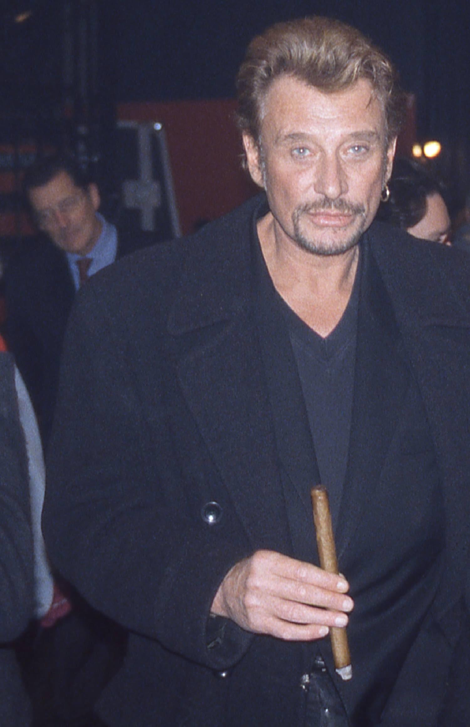 Johnny Hallyday | Les Enfoirés 1998 | Paris | Photo sandrine cohen