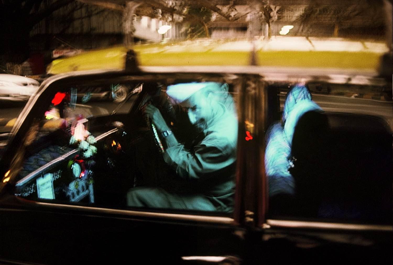 Mumbai - Bombay | Blue Taxi | Colaba | photo sandrine cohen