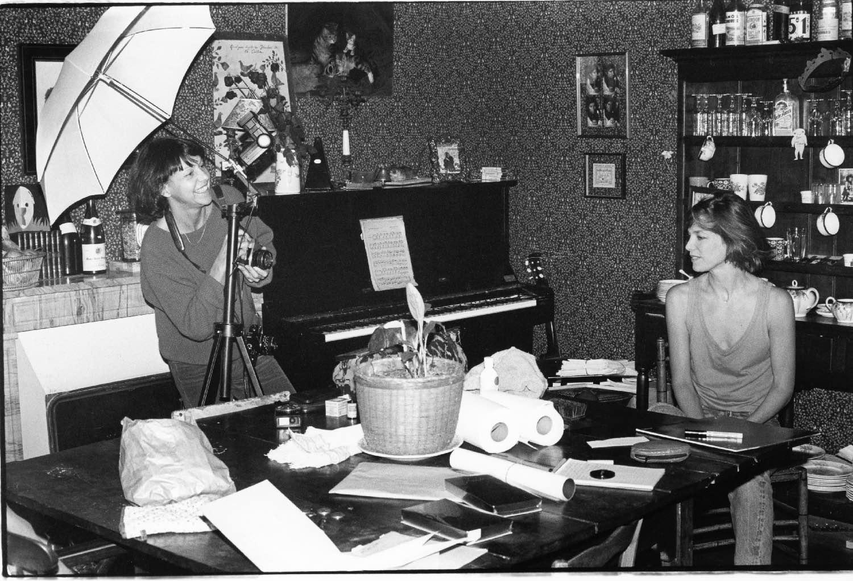 Jane Birkin - 1983 | Shotting Simone Oppliger |Photo sandrine cohen