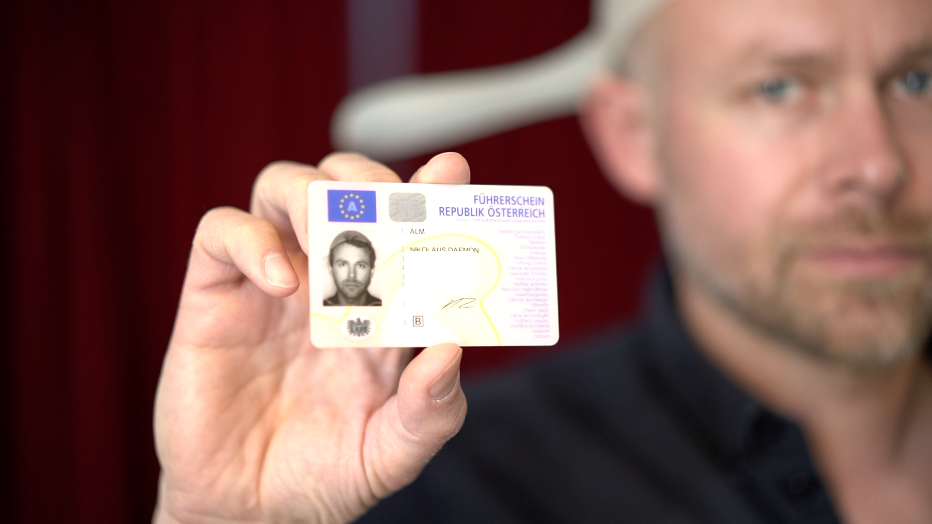 Niko Alm, first state issued Pastafarian ID.
