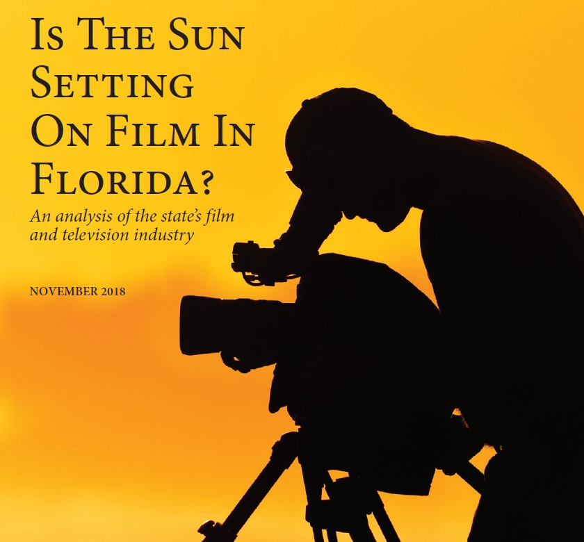Florida TaxWatch released a report examining how states lure film & TV projects -
