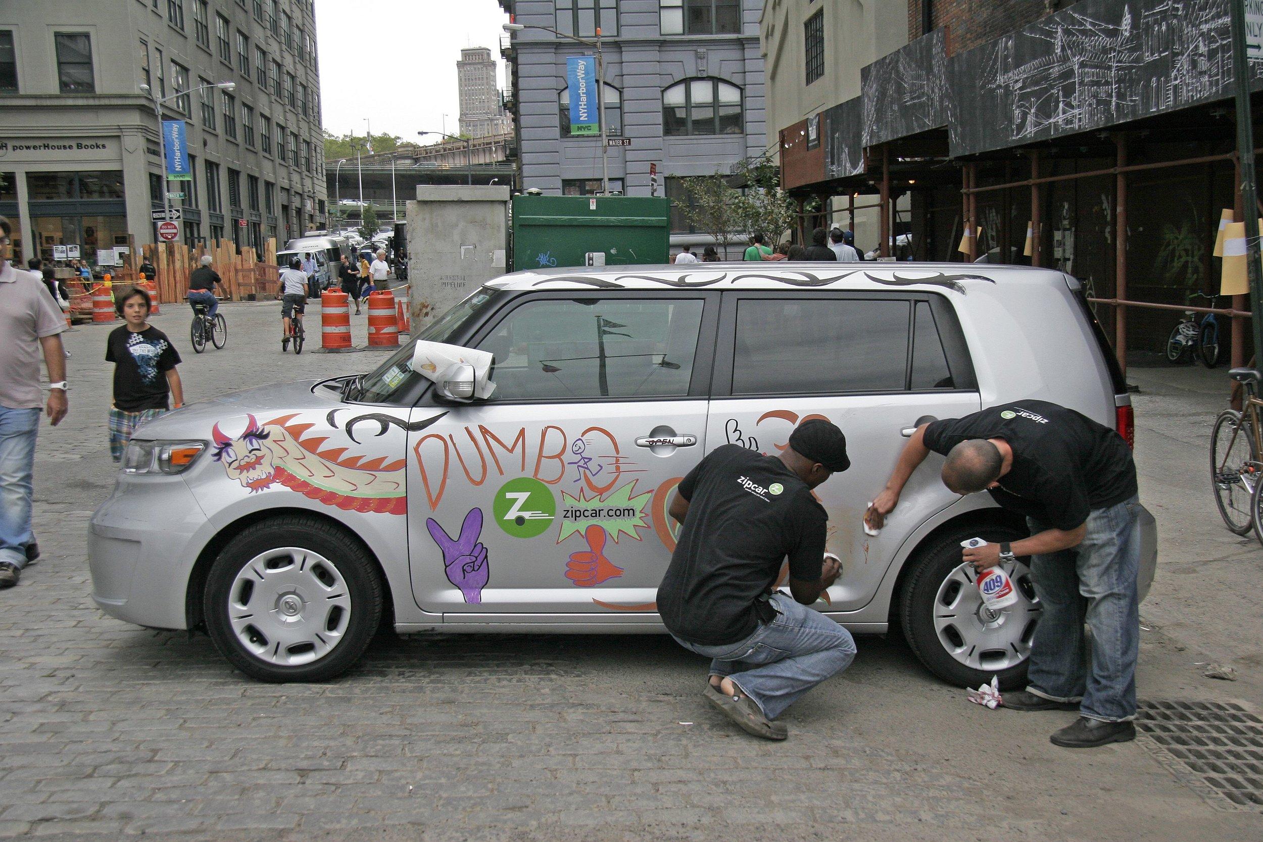 ZipCar Sponsorship