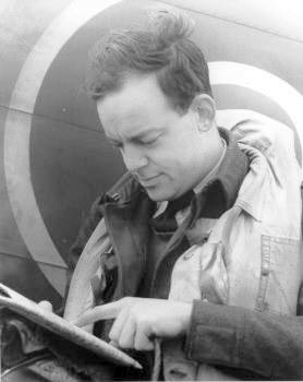 Squadron Leader Hugh Norsworthy (439 Squadron Archives)