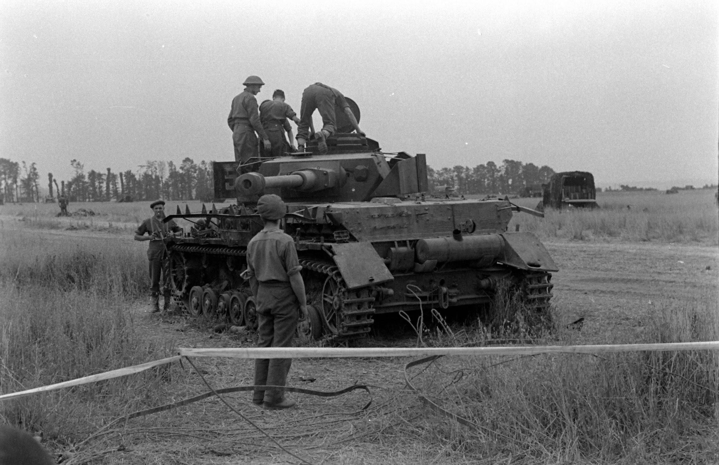 Destroyed/Captured Panzer IV. IWM