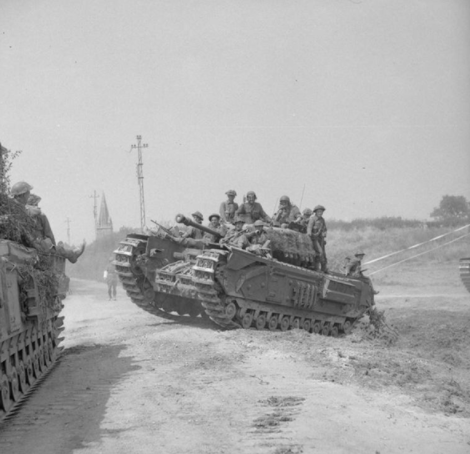 15 January  2021 - 6th Battalion King Own Scottish Borders3rd (Tank) Battalion Scots Guards.