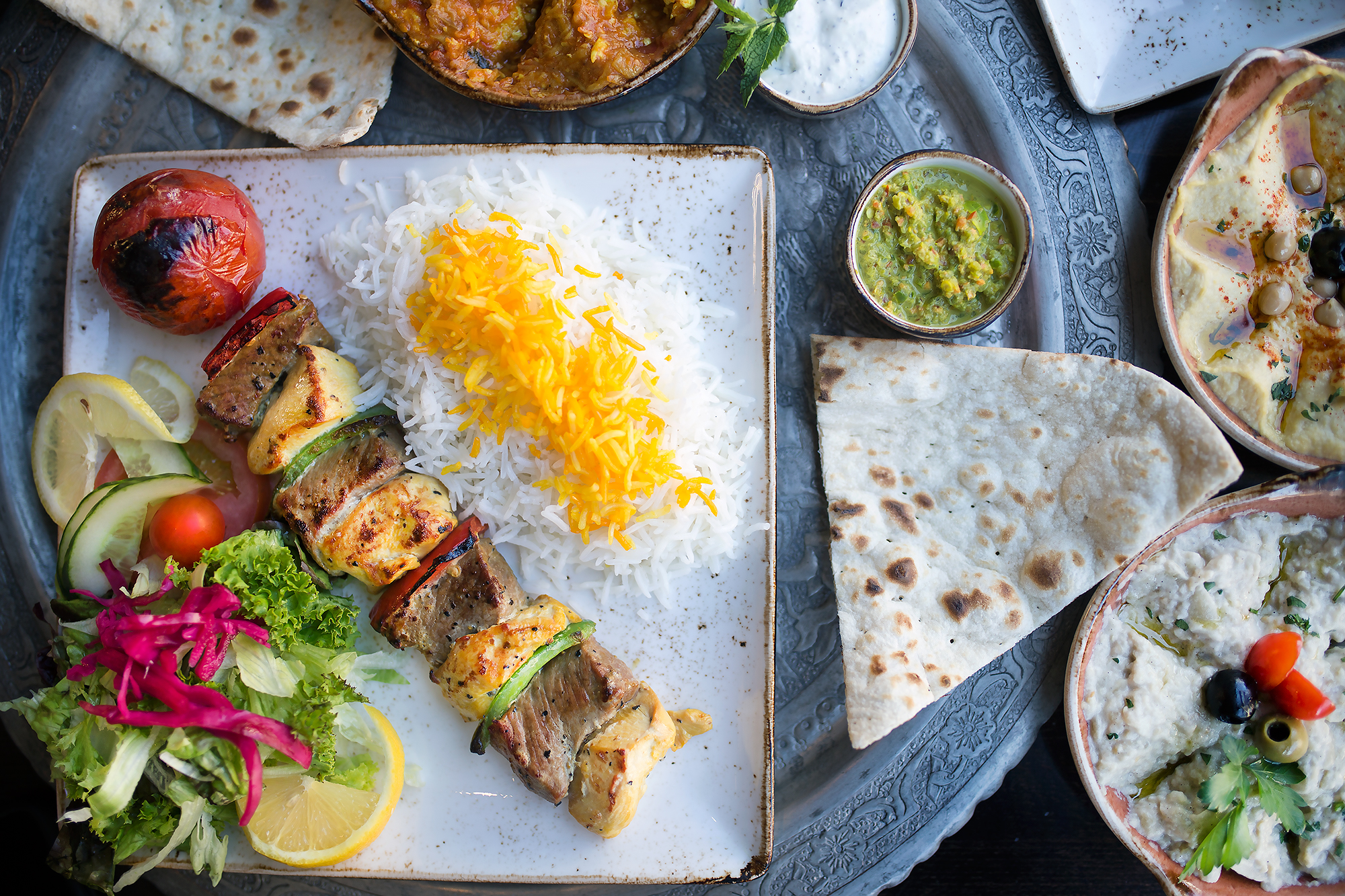 SHIRAZ PERSIAN CUISINE - 10% OFF WHEN YOU SHOW PAVILION CARD AT END OF YOUR MEAL
