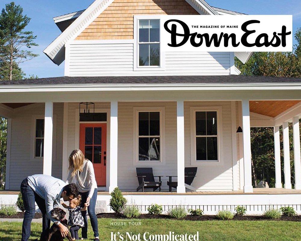 Down East Magazine Feature Maine Homes House Tour Samantha S Pappas Interior Design Fine Art Samantha S Pappas Design