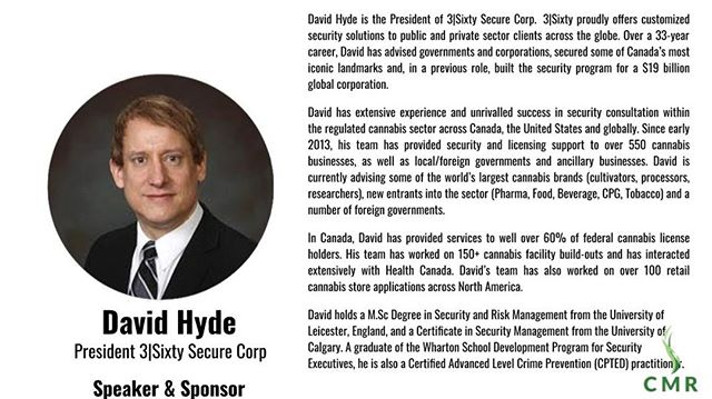 He may be at CannaEuropa this week but he's heading down to Barbados for the weekend! I am extremely honored to have David Hyde as a speaker and sponsor of the Barbados Medical Cannabis Education Conference this weekend. Even the updated bio does not do him justice, he is truly an international leader in this field . There is no one better suited to talk to a newly developing country about how to legalize medical cannabis .  #leadership #bestinclass #BIMCC2019 #security #regulations