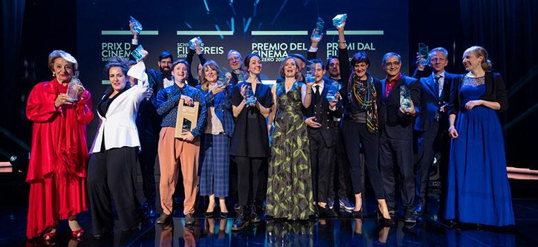Gewinnerinnen und Gewinner des Schweizer Filmpreises.