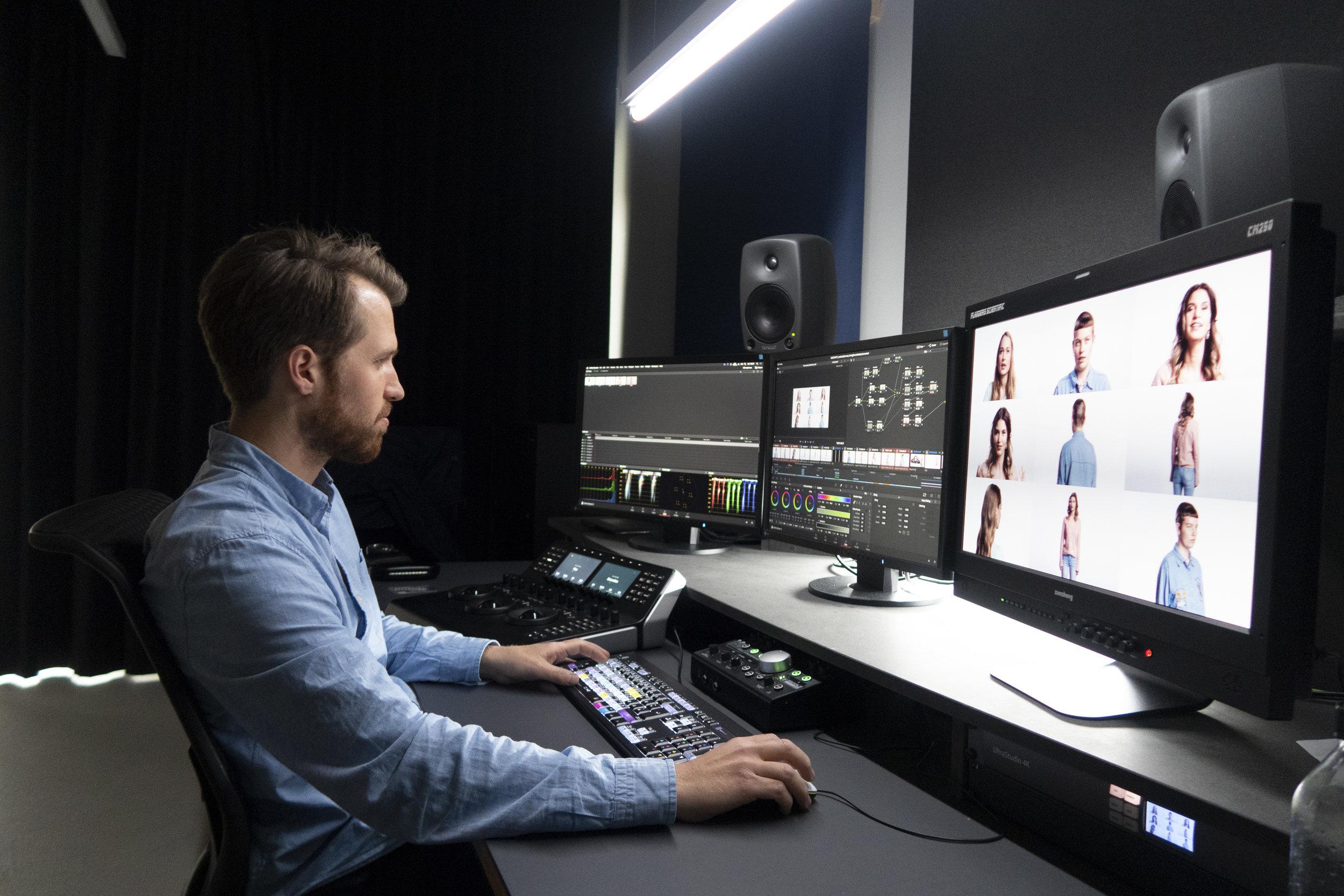 Colorgrading an der HSLU der Abschlussfilme 2019