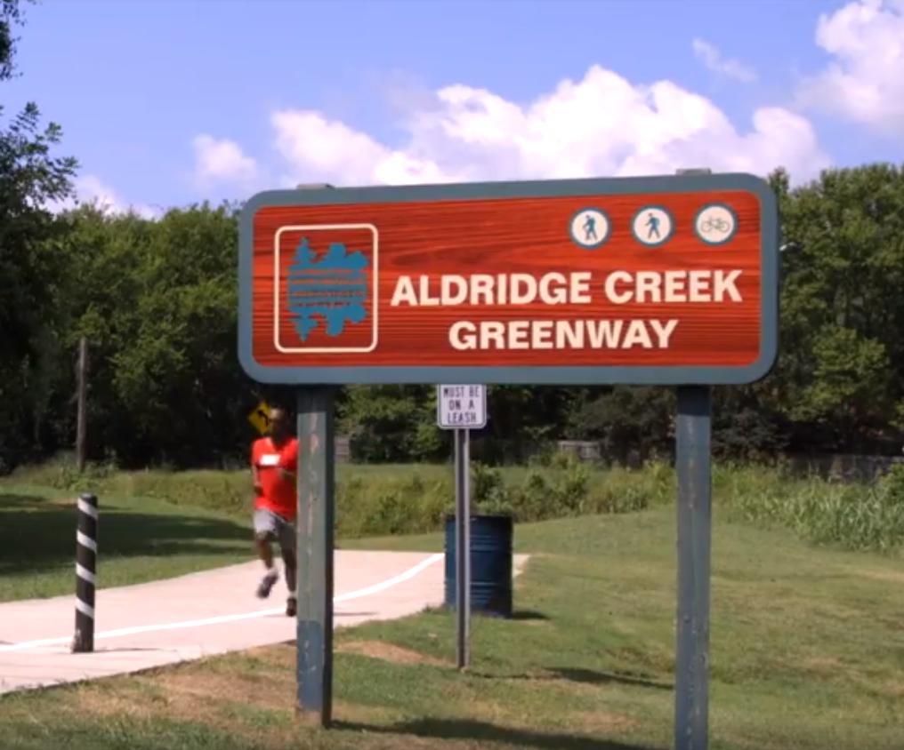 Aldridge creek greenway.PNG