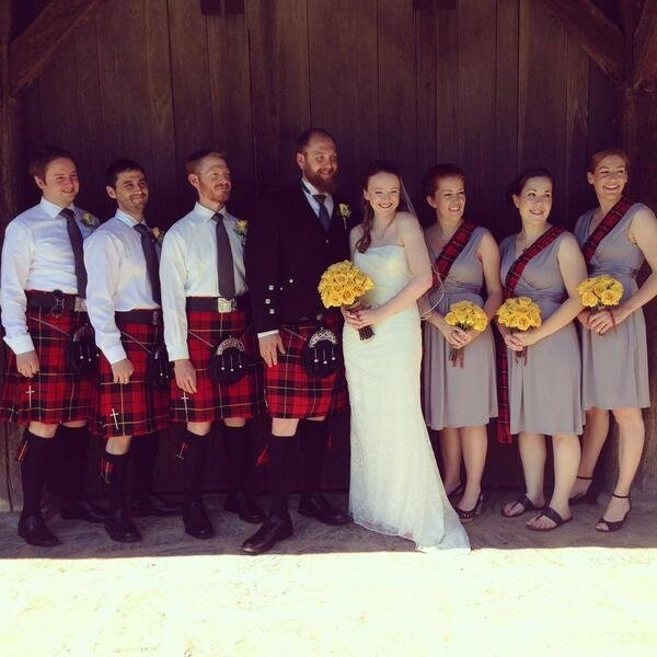 HUFFINGTON POST: who got married this weekend