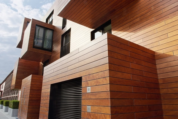 Wood Siding Wall