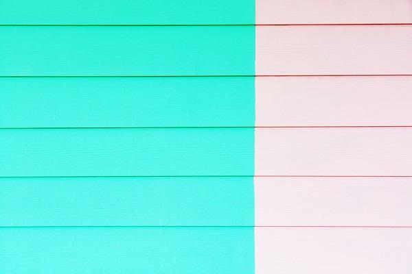 Color fiber siding