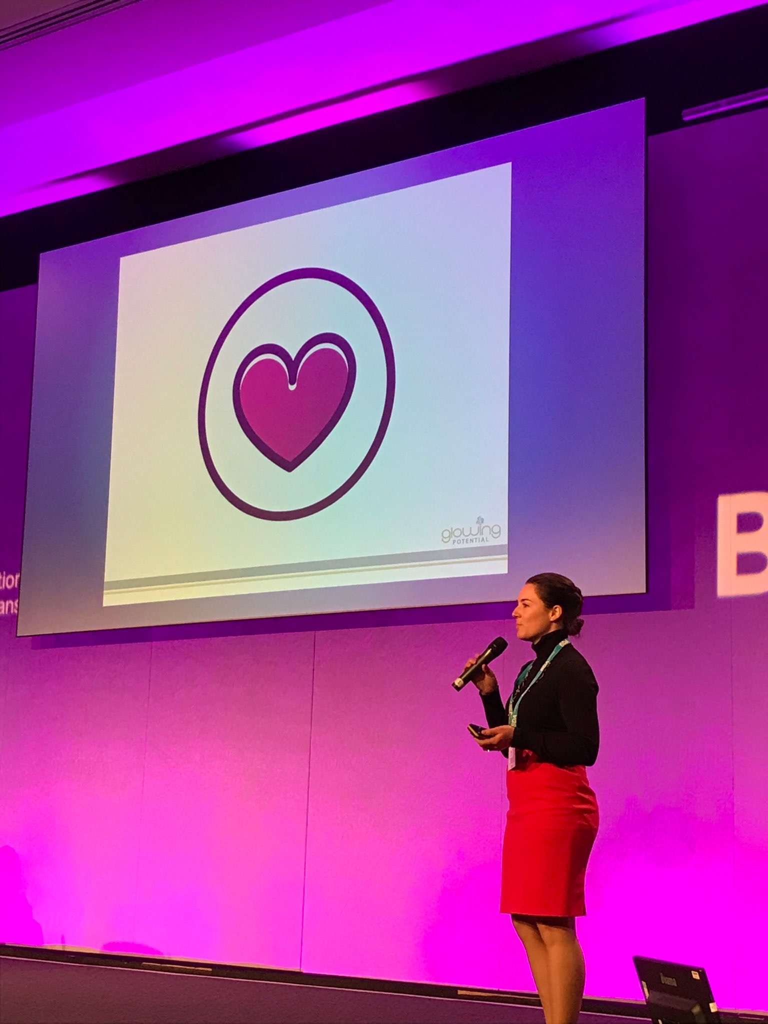 Emily Foster, RD at BDA Live February 2018 -  Marketing the Future Dietitian