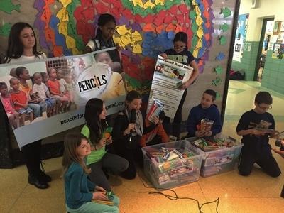 Harold D. Fayette Elementary School Merrick Pencil Drive -