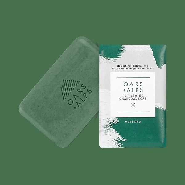 Oars + Alps Peppermint Charcoal Soap