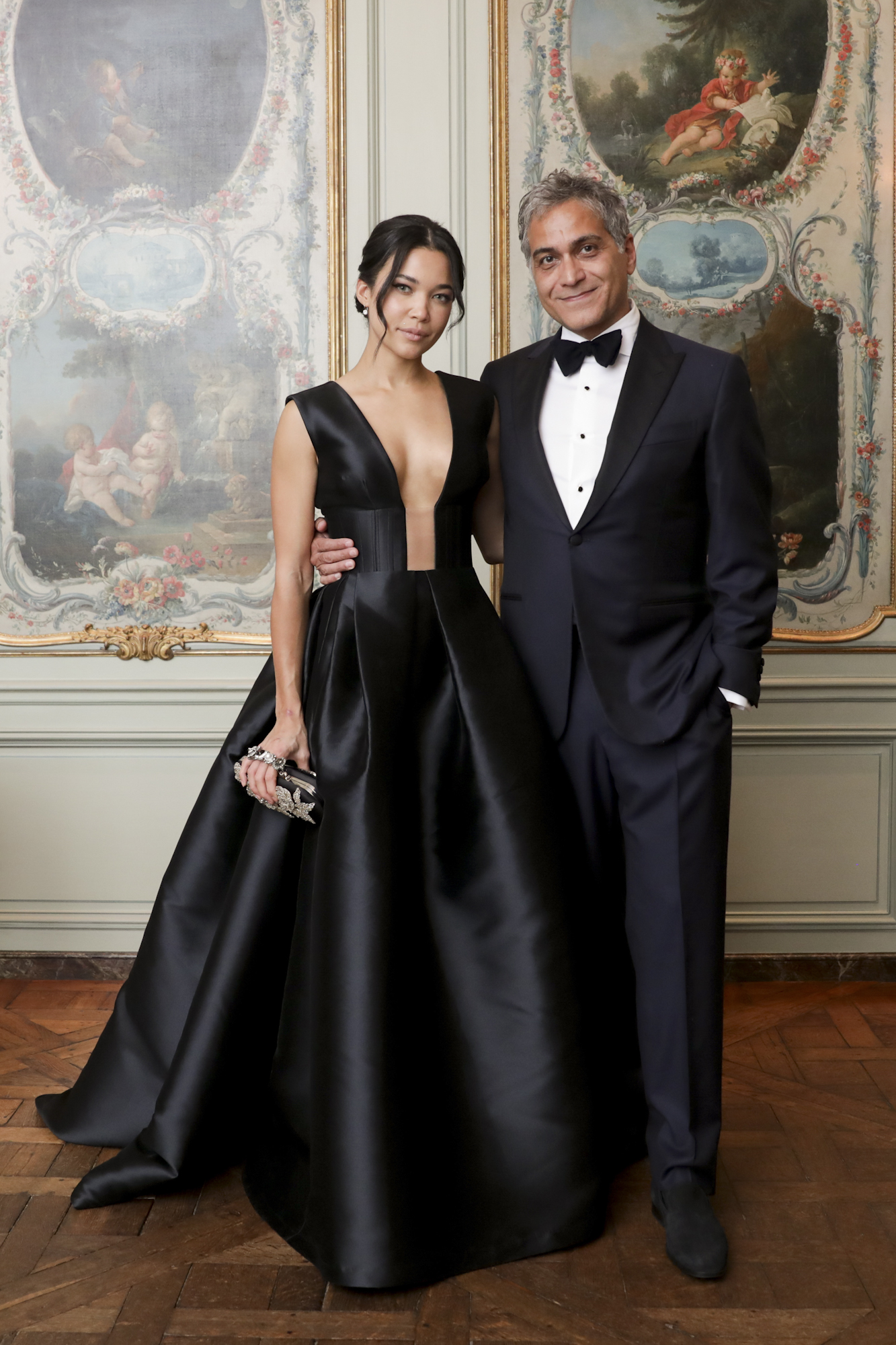 Kaya Hall and Reza Bundy attend The Frick Collection's 20th Annual Young Fellows Ball at 1 East 70th Street on Thursday, March 21st, 2019. Photography, Courtesy of The Frick Collection.