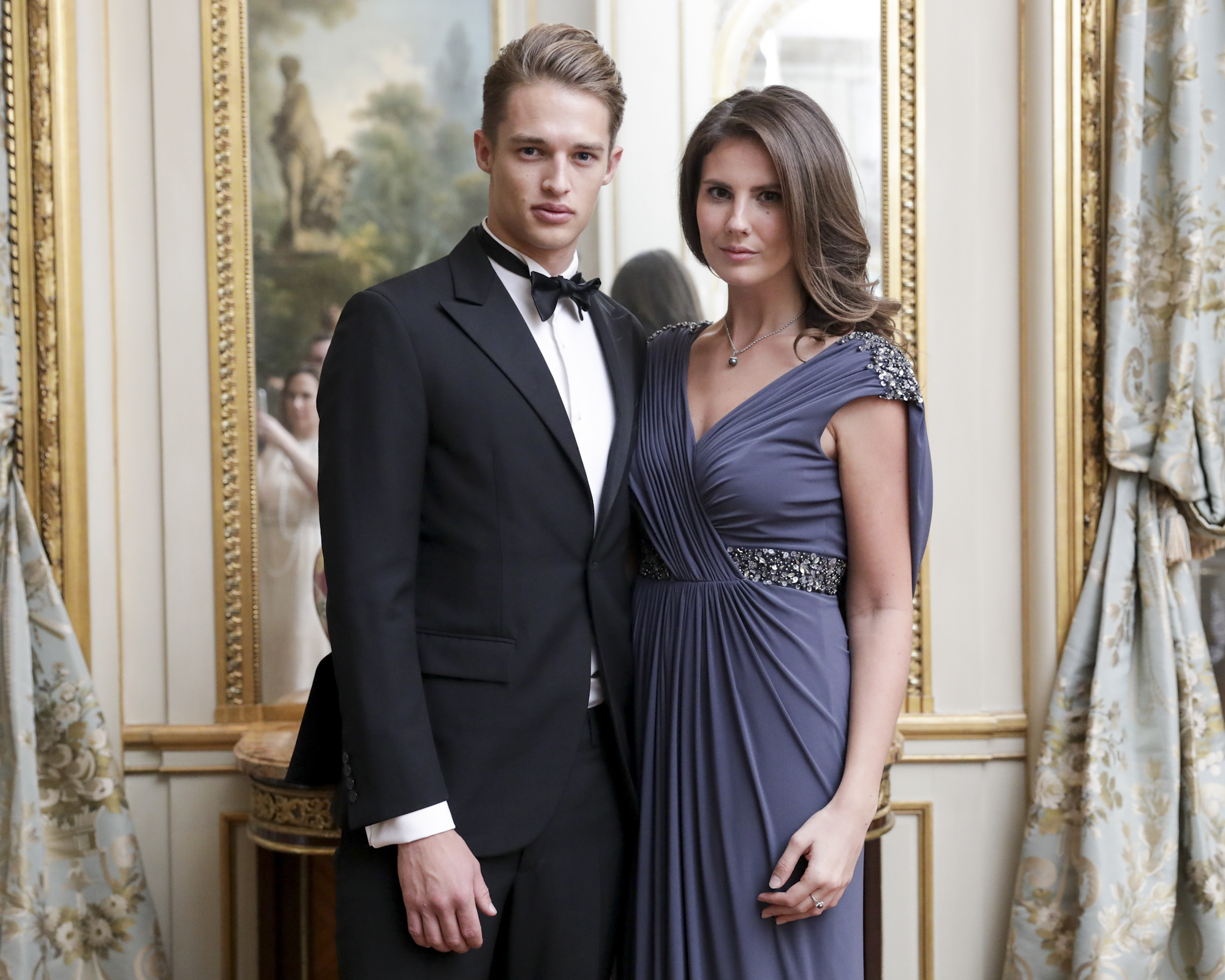 Morten Nielsen and Francesca Dolnier attend The Frick Collection's 20th Annual Young Fellows Ball at 1 East 70th Street on Thursday, March 21st, 2019. Photography, Courtesy of The Frick Collection.
